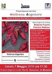 Presentazione del libro - Violenza Degenere