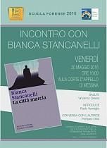 Presentazione Libro di Bianca Stancanelli  La città marcia  - 20 maggio 2016 - Scuola Forense