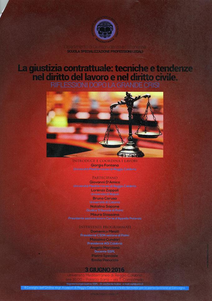 La giustizia contrattuale: tecniche e tendenze nel diritto del lavoro e nel diritto civile