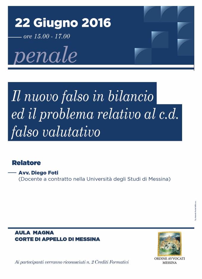 Il nuovo falso in bilancio ed il problema relativo al c.d. falso valutativo