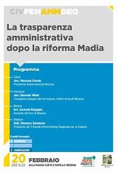 POF 2017 - AMMINISTRATIVO - La trasparenza amministrativa dopo la Riforma Madia