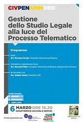 POF 2017 - Gestione dello Studio Legale alla Luce del Processo Telematico