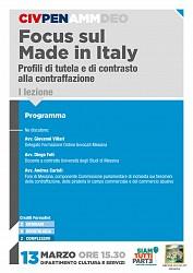 POF 2017 - CIVILE E PENALE - Focus sul Made in Italy