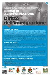 Corso alta formazione Diritto dell Immigrazione