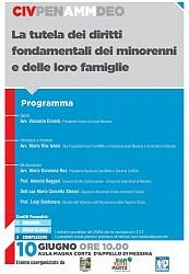 POF 2017 – CIVILE E DEONTOLOGIA - La tutela dei diritti fondamentali dei minorenni e delle loro famiglie.