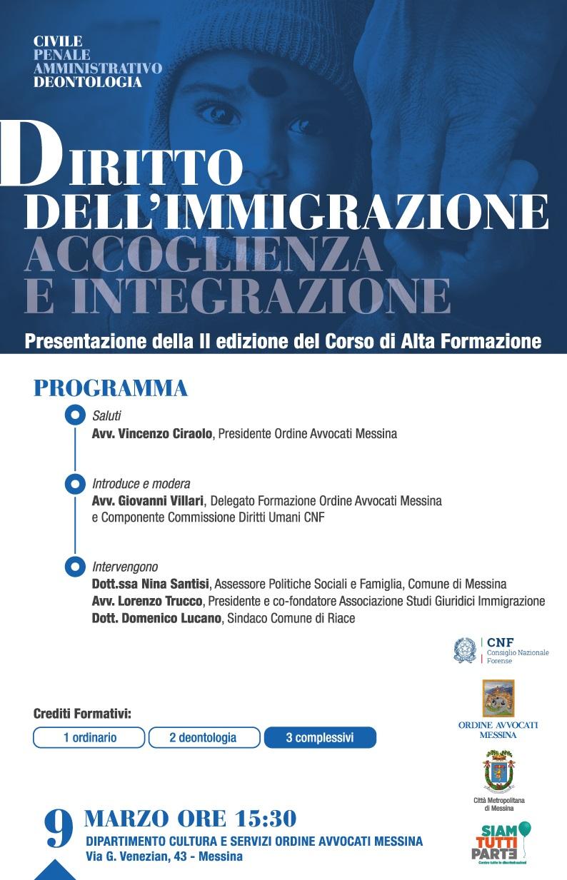 Diritto dell Immigrazione - Accoglienza e Integrazione