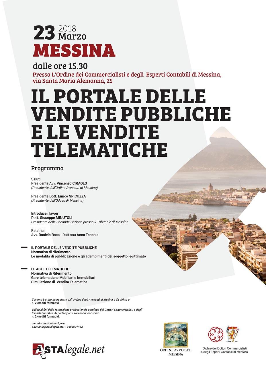 Cambio sede - Il portale delle vendite pubbliche e le vendite telematiche