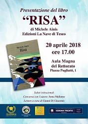 Presentazione del libro  RISA