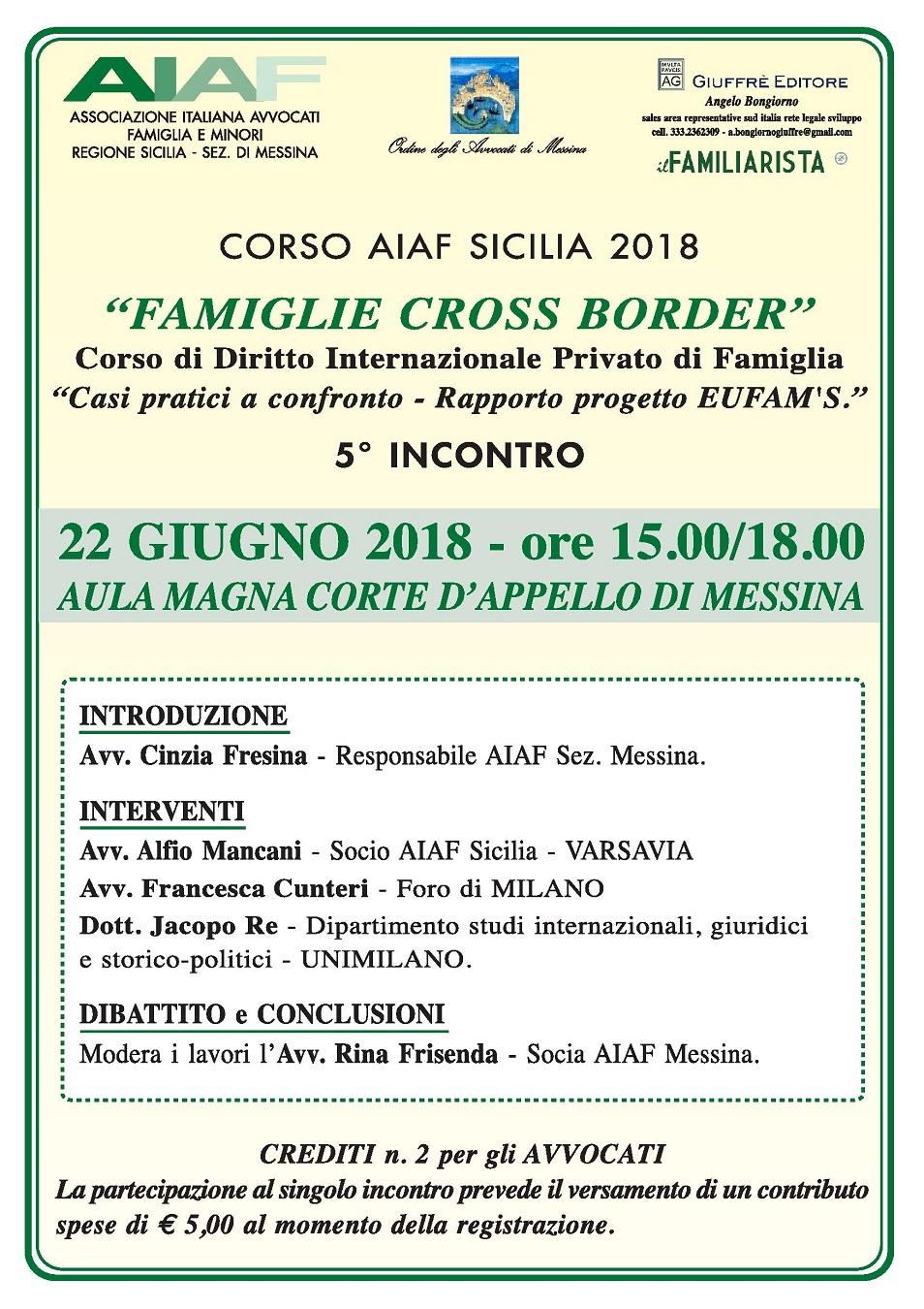 Corso AIAF Sicilia