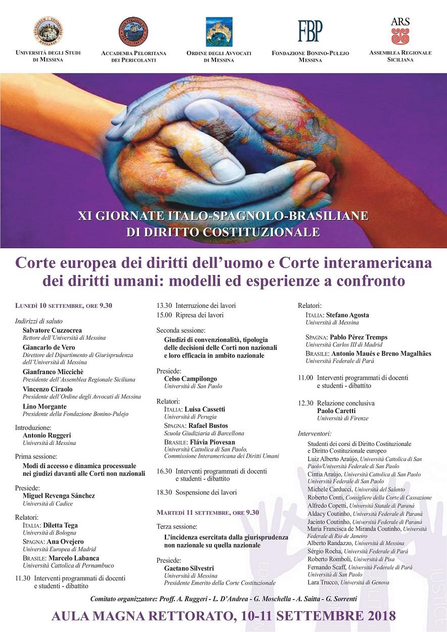Corte europea dei diritti dell'uomo e Corte interamericana dei diritti umani: modelli ed esperienze a confronto