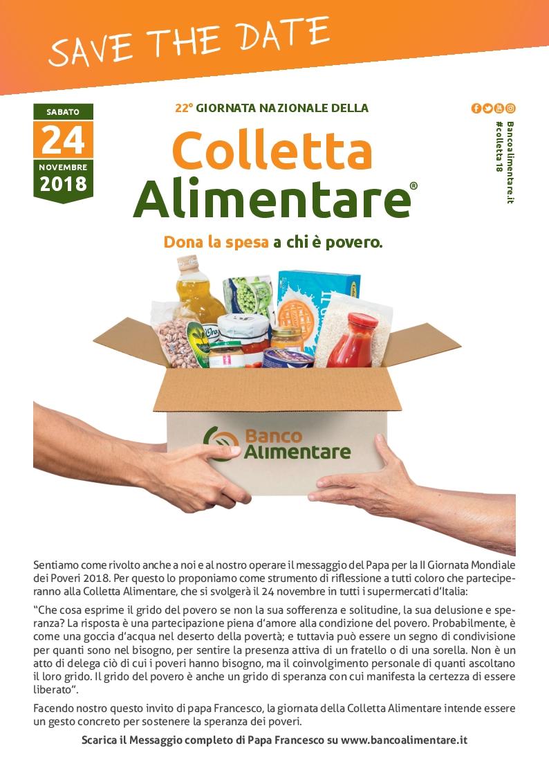 22° Giornata Nazionale della Colletta Alimentare