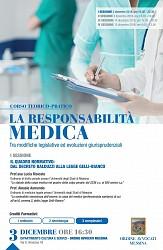 Corso Responsabilità professionale medica