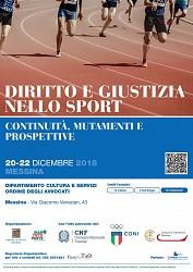 Diritto e Giustizia nello sport - continuità, mutamenti e prospettive