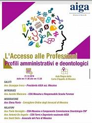 Accesso alle professioni: profili amministrativi e deontologici