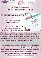 Presentazione del Libro  LA GIUSTIZIA RIPARATIVA