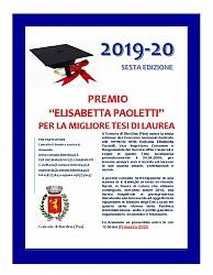 Borsa di studio  Elisabetta Paoletti