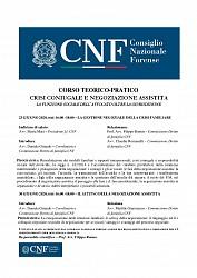 CNF - Corso di negoziazione assistita