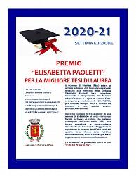 Premio - Elisabetta Paoletti - per la migliore tesi di laurea