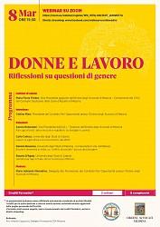 Donne e lavoro - riflessioni su questioni di genere
