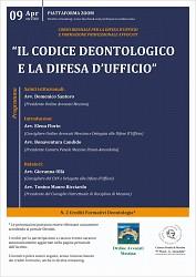 Il Codice Deontologico e la difesa d ufficio