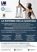 La riforma della giustizia