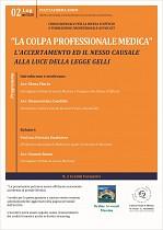 La colpa professionale medica